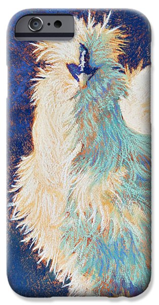 Silkie Rooster iPhone Case by Tracy L Teeter