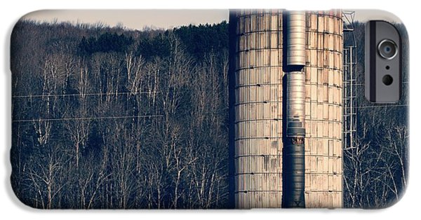 Agricultural iPhone Cases - Silo iPhone Case by Edward Fielding