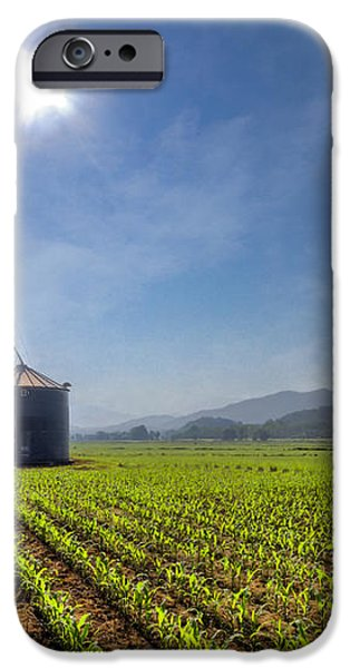 Silos iPhone Case by Debra and Dave Vanderlaan
