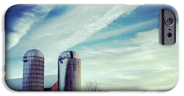 Silos iPhone Cases - Silos iPhone Case by Jeff Klingler