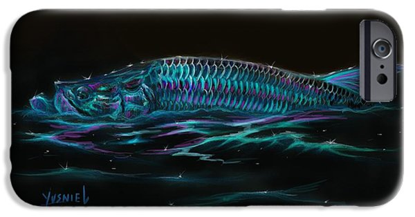 Redfish iPhone Cases - Silver Flash iPhone Case by Yusniel Santos
