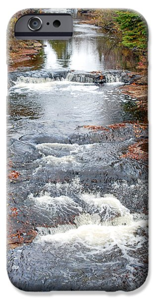 Michigan iPhone Cases - Silver River iPhone Case by Optical Playground By MP Ray