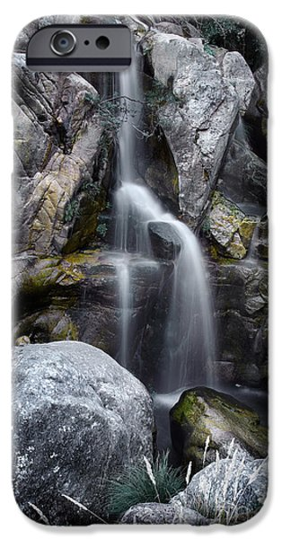 Silver Waterfall iPhone Case by Carlos Caetano