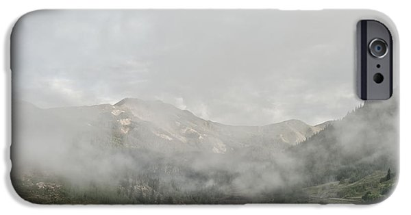 Getting Away From It All iPhone Cases - Silverton Colorado iPhone Case by Melany Sarafis