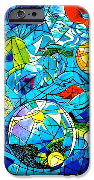 Boardroom Mixed Media iPhone Cases - Simeon iPhone Case by Susan Robinson