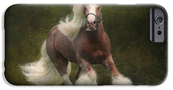 Animals Photographs iPhone Cases - Simon and the storm iPhone Case by Fran J Scott