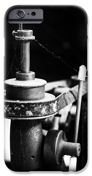 Simple Machinery iPhone Case by Karol  Livote