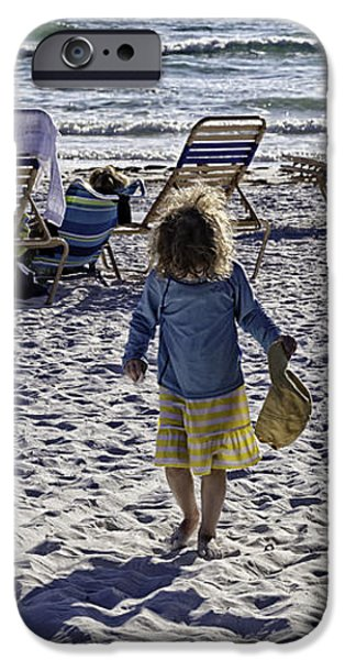 Simpler Times 2 - Miami Beach - Florida iPhone Case by Madeline Ellis