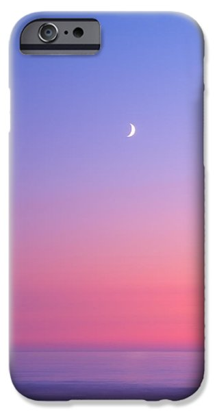Moon iPhone Cases - Simplistic Wonders of the Earth iPhone Case by Darren  White