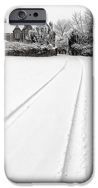 Snow iPhone Cases - Simply Winter iPhone Case by Adrian Evans