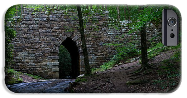 Recently Sold -  - Historic Site iPhone Cases - SInce 1802 Poinsett Bridge iPhone Case by Sandra Clark