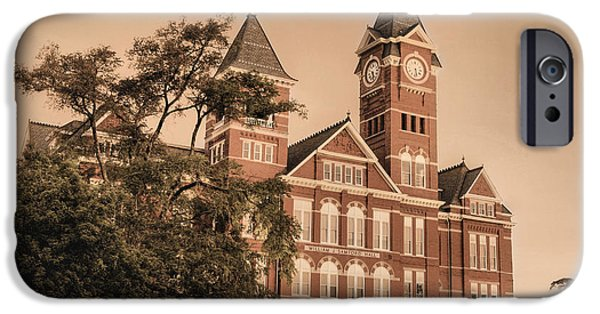 Auburn iPhone Cases - Since 1856 iPhone Case by JC Findley