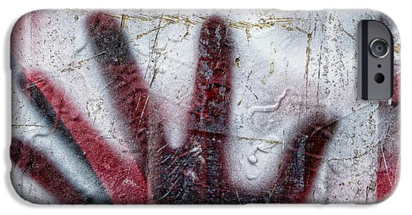 Urban Photographs iPhone Cases - Sine of the Wave iPhone Case by Carol Leigh