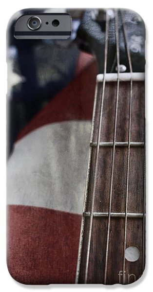 Free Speech iPhone Cases - Sing the Song of Freedom iPhone Case by Ella Kaye Dickey
