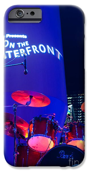 Singapore Drum Set 02 iPhone Case by Rick Piper Photography