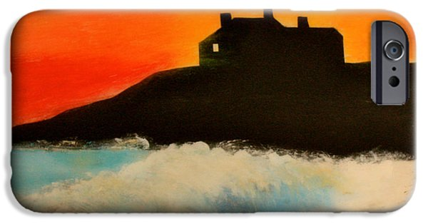 Prescott iPhone Cases - Singing Beach iPhone Case by Mark Prescott Crannell