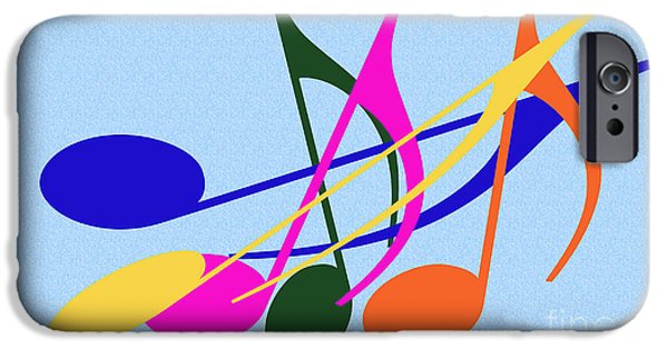 Multimedia iPhone Cases - Singing Happily iPhone Case by Tina M Wenger