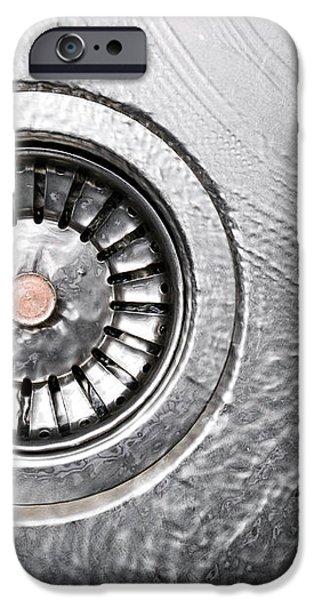Sink iPhone Case by Sinisa Botas