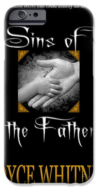 Sins of the Father book cover iPhone Case by Mike Nellums