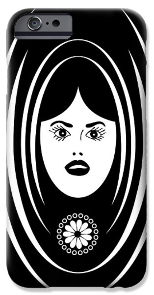 Soprano iPhone Cases - Siren iPhone Case by Frank Tschakert