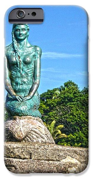 Sirena Playa Esterillos Oeste Costa Rica II  iPhone Case by Michelle Wiarda