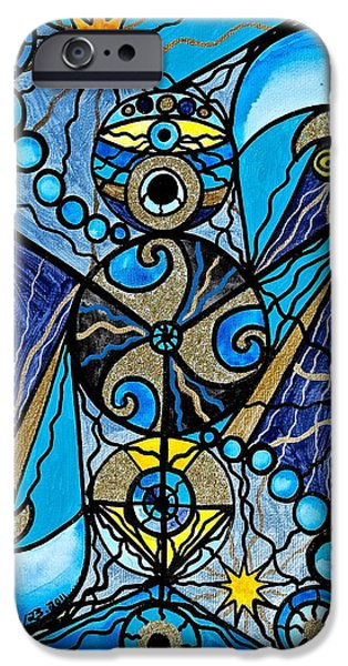 Sacred iPhone Cases - Sirius iPhone Case by Teal Eye  Print Store