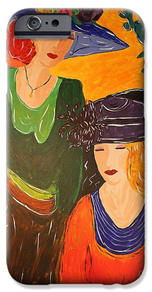 Recently Sold -  - Lips iPhone Cases - Sisters iPhone Case by Christine  Dekkers