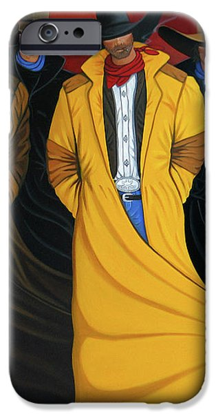 Six Pac iPhone Case by Lance Headlee