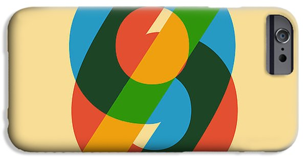 Color iPhone Cases - Sixty Nine iPhone Case by Budi Kwan