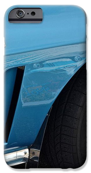 Sixty Six Corvette Roadster iPhone Case by Frozen in Time Fine Art Photography
