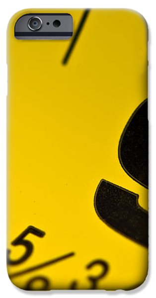 Size Matters iPhone Case by Charles Dobbs