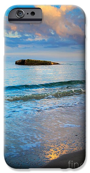 Denmark iPhone Cases - Skagen Light iPhone Case by Inge Johnsson