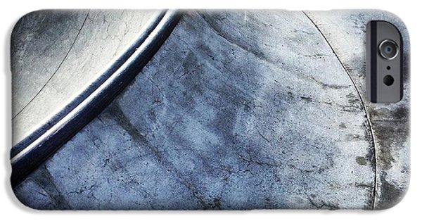 Skateboards iPhone Cases - Skate iPhone Case by Jeff Klingler