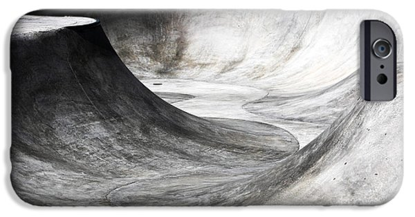 Skateboard iPhone Cases - Skateboard Pit iPhone Case by John Rizzuto