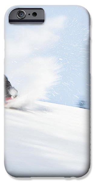 SKETCHY LANDING iPhone Case by Theresa Tahara
