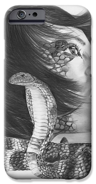 Shed Drawings iPhone Cases - Skin Deep iPhone Case by Terri Meredith