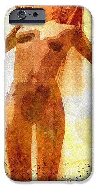 Skinny Dipping iPhone Case by Bob Orsillo