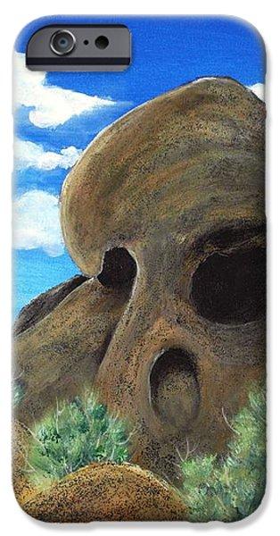 Skull Rock iPhone Case by Anastasiya Malakhova