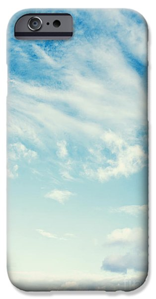 Summer iPhone Cases - Sky iPhone Case by Dan Radi
