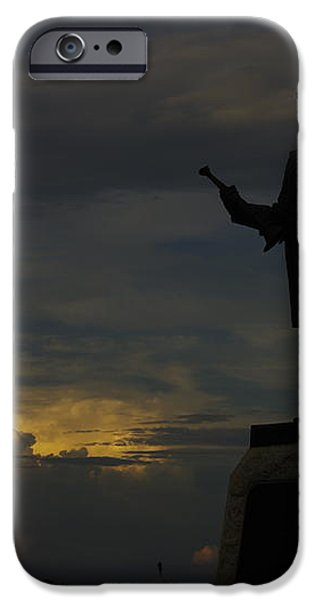 Sky Fire - 73rd NY Infantry 4th Excelsior 2nd Fire Zouaves - Summer Evening Thunderstorms Gettysburg iPhone Case by Michael Mazaika