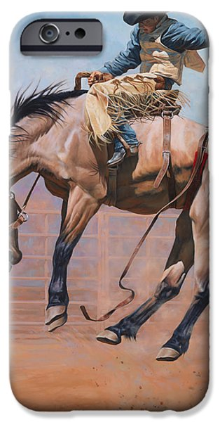 Barns Paintings iPhone Cases - Sky High iPhone Case by JQ Licensing