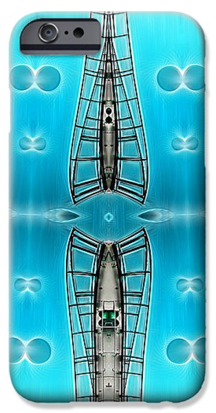 Sky Ladders iPhone Case by Wendy J St Christopher