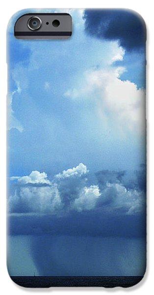 Raining iPhone Cases - Sky Magic... iPhone Case by Nina Stavlund