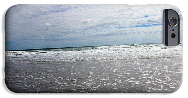 Surrealism Digital iPhone Cases - Sky Meets Ocean iPhone Case by Cynthia Guinn