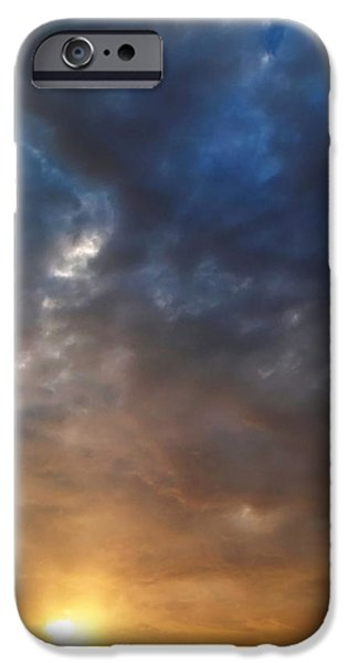 Stratosphere iPhone Cases - Sky Moods - Contemplation iPhone Case by Glenn McCarthy