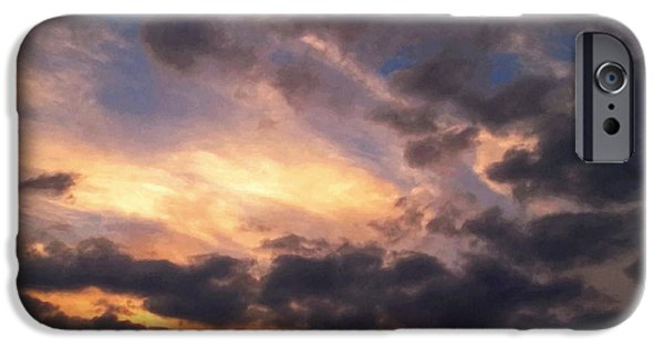 Stratosphere iPhone Cases - Sky Moods - Depth iPhone Case by Glenn McCarthy