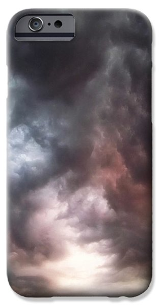 Stratosphere iPhone Cases - Sky Moods iPhone Case by Glenn McCarthy