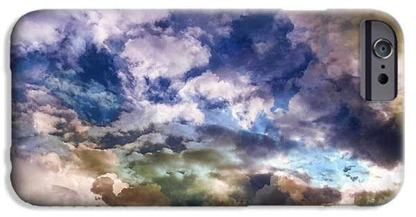 Stratosphere iPhone Cases - Sky Moods - Sea Of Dreams iPhone Case by Glenn McCarthy