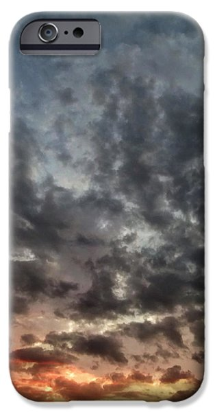 Stratosphere iPhone Cases - Sky Moods - Spectrum iPhone Case by Glenn McCarthy