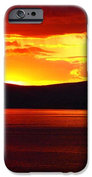 Sky Of Fire iPhone Case by Aidan Moran